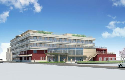 城北病院改築工事