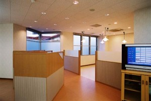 城北病院診療所-休憩所